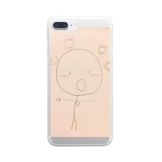 トキメキ*ボーちゃん Clear smartphone cases