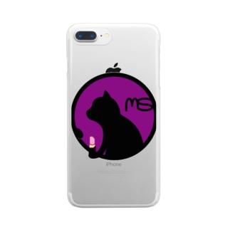 パ紋No.3252 MS Clear smartphone cases