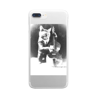 Doublebass Player  Clear smartphone cases