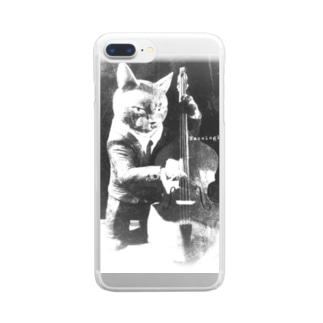 Doublebass Player 2 Clear smartphone cases