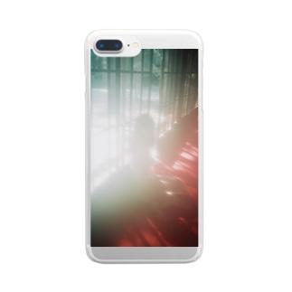 まぼろし Clear smartphone cases