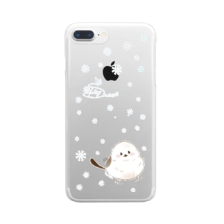 Snow fairy Clear smartphone cases