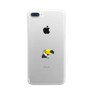 ビールでいい? Clear smartphone cases