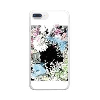 ロマンスリース Clear smartphone cases