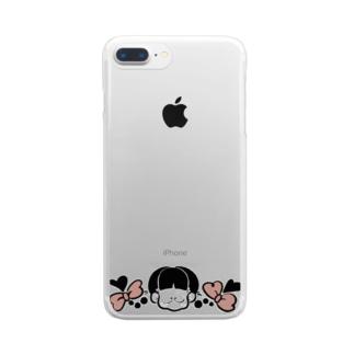 じょし Clear smartphone cases