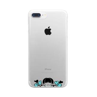 じょしao Clear smartphone cases