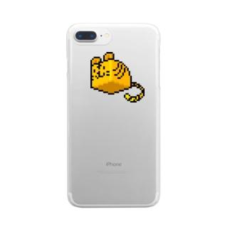 はことら(ドット) Clear smartphone cases