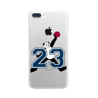 エアジパンダシリーズ Clear smartphone cases