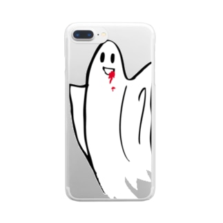 n_airのおーばーけー Clear smartphone cases