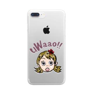 uWaao Clear smartphone cases
