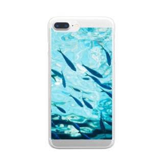 ギョギョ Clear smartphone cases