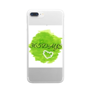 365DAYS クリアスマートフォンケース
