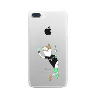 パンクキャット【アイガス】 Clear smartphone cases