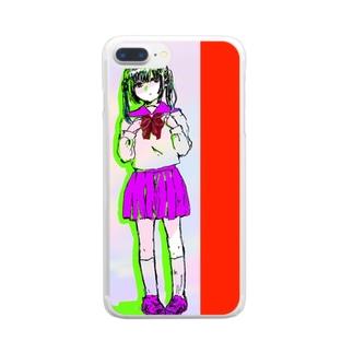 ゆうやけ Clear smartphone cases