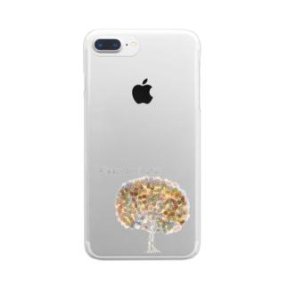 Always be joyful Clear smartphone cases