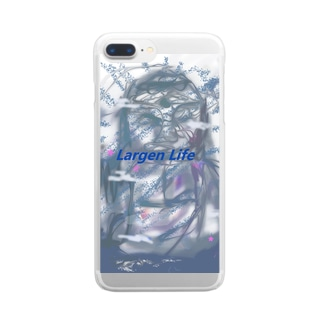 Largen Life Clear smartphone cases