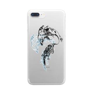 イルカ Clear smartphone cases