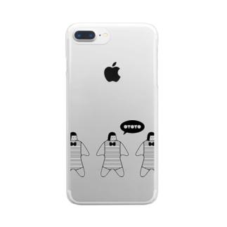 OYOYO TRIO Clear smartphone cases
