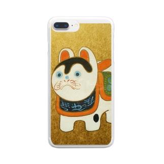 こまいぬ Clear smartphone cases