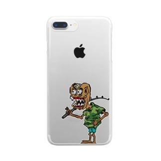 ボウズ男爵 Clear smartphone cases