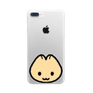 ねぬね Clear smartphone cases