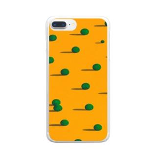 永遠の昼下がり Clear smartphone cases