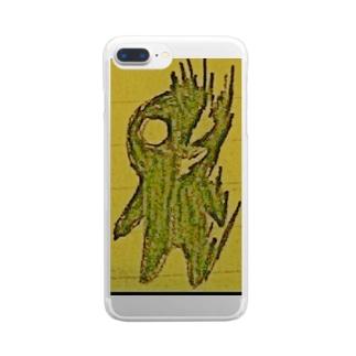 Яeのクロイモノ? Clear smartphone cases