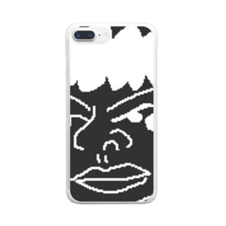 シロロ Clear smartphone cases