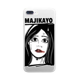 MAJIKAYO クリアスマートフォンケース