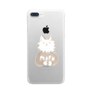 スミスさん「MOFU」 クリアスマートフォンケース