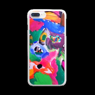 橋本京子のDOG☆HEART(Karin) Clear smartphone cases