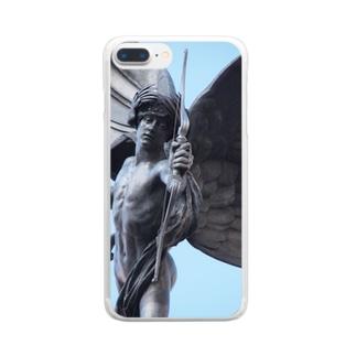 えろすくん Clear smartphone cases