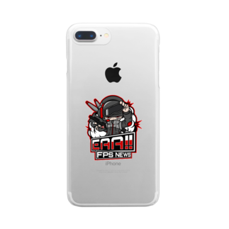 EAA!! Official Store - EAA!! 公式ストアの新ロゴ「EAA(いぇあ)軍曹(仮)」 v2 Clear smartphone cases