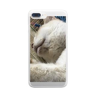ミルクのアイテム Clear smartphone cases