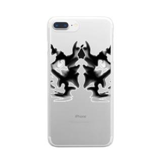 何に見える? Clear smartphone cases