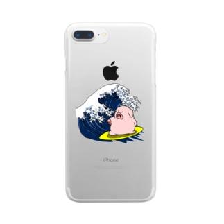海豚 Clear smartphone cases