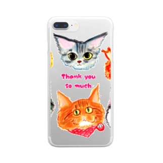 thank you so much 02 Clear smartphone cases