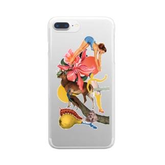 HANA Clear smartphone cases