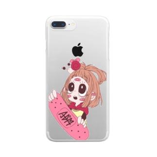 ソフィア Clear smartphone cases