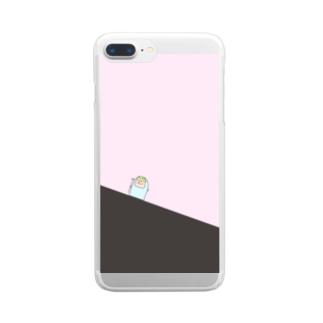 さんぞうさん Clear smartphone cases