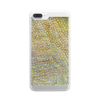 オハナバタケ Clear smartphone cases