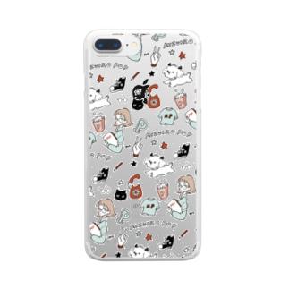 MIZUIRO POP Clear smartphone cases