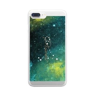 12星座シリーズ 魚座 Clear smartphone cases