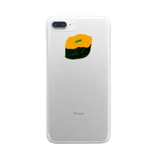 うにさん Clear smartphone cases