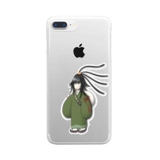 松ヶ崎さん Clear smartphone cases