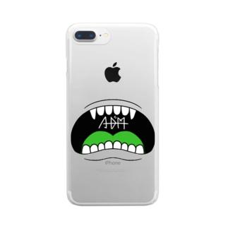 アダム Clear smartphone cases