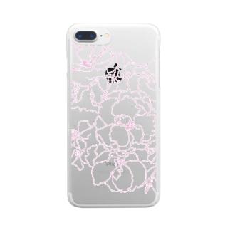 桜さくさく Clear smartphone cases