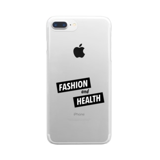 FASHION & HEALTH Clear smartphone cases