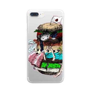 いうらくん Clear smartphone cases