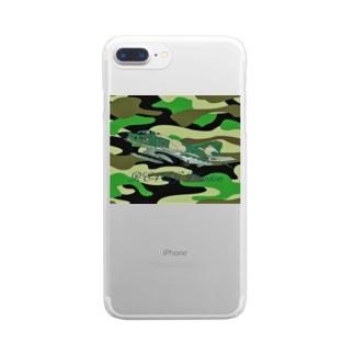 NOMAD-LAB The shopの RF-4EJ phantom Clear smartphone cases